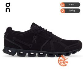 On Running Cloud Black Homme noire noir