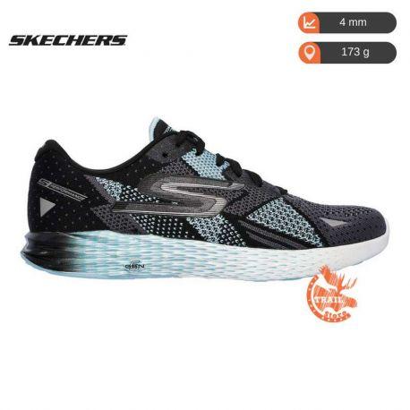 Skechers Gomeb Razor Black Aqua Femme noire bleu clair