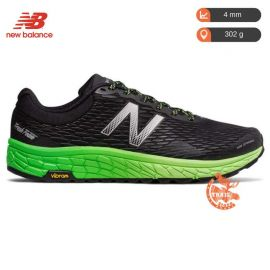 New Balance Fresh Foam Hierro V2 Black Green Homme noir vert verte
