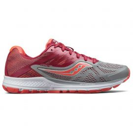 Saucony Ride 10 Blanc Rouge Femme