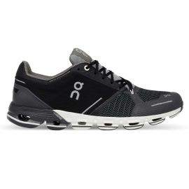 On Running Cloudflyer Black White Homme