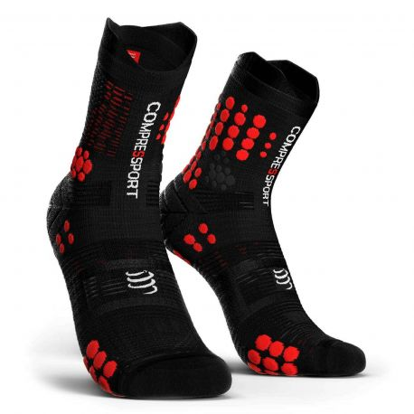 Compressport ProRacing Socks V3.0 Trail Black Red