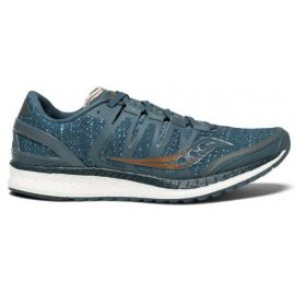 Saucony Liberty Iso Blue Denim Copper Femme