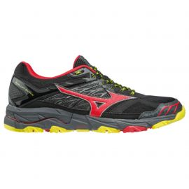 Mizuno Wave Mujin 4 Black Formula One Flash Homme