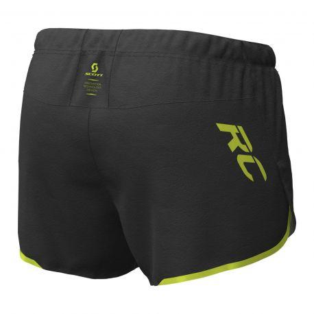 Scott Split Shorts RC RUN black yellow Homme