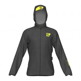 Scott Jacket RC RUN Waterproof Black Yellow Homme