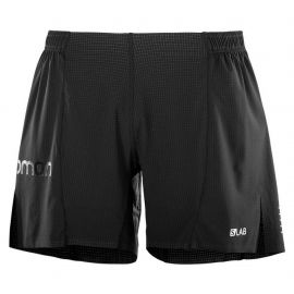 Salomon S/Lab Running Short 6 Black Homme