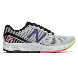 New Balance 890 V6 Black with White Blue Iris Femme