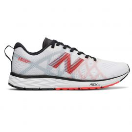 New Balance 1500 V4 White with Red Black Femme