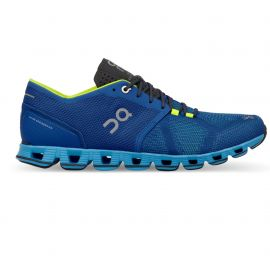 On Running Cloud X Water Blues Homme