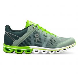 On Running Cloudflow Moss Lime Homme