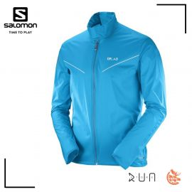 Salomon s-lab Light Jacket M Veste Transcend Blue