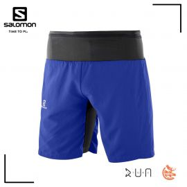Salomon Trail Runner Twinskin Short Surf the web Homme