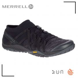 Merrell Trail Glove 4 Knit Black Homme