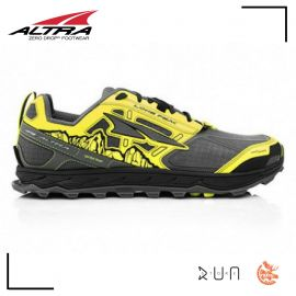 Altra Lone Peak 4.0 Grey Yellow Homme