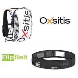 Oxistis Pulse 7 litres zèbre + Flipbelt