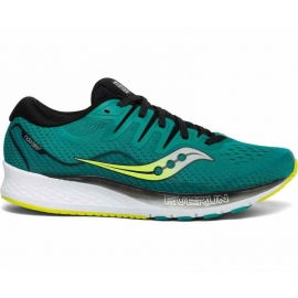 Saucony Ride ISO 2 Green Black Homme