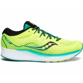 Saucony Ride ISO 2 Citron Homme