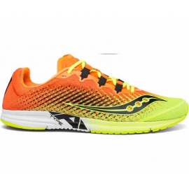 Saucony Type A9 Orange Citron Femme