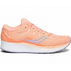 Saucony Ride ISO 2 Peach Blue Femme