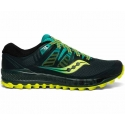 Saucony Peregrine Iso Green Teal Homme