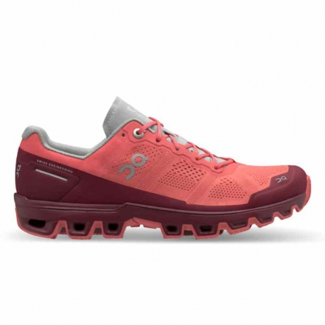 On Running Cloudventure Coral Mulberry