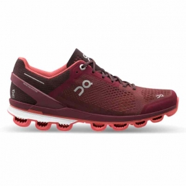 On Running CloudSurfer Mulberry Coral Femme