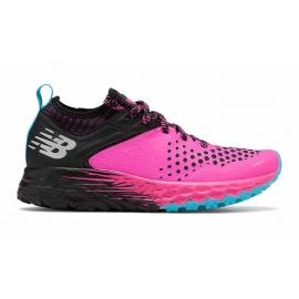 New Balance Fresh Foam Hierro V4 Pink Black Femme