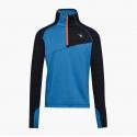 Diadora Warm Up Tshirt WInter Blue Deep Water Homme