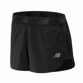 Short New Balance Accelerate 2.5 Inch Black Femme