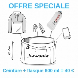 Ceinture Sammie + Flasque 600 ml