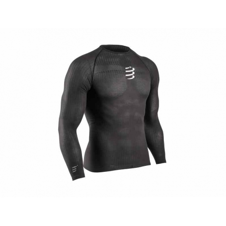 Compressport 3D thermo 50 grammes Manches Longues