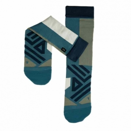 On Running High Sock Storm Moss Homme