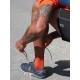 On Running Mid Sock Rust Navy Homme
