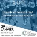 Billet conférence 29 janvier : Le geste en course à pied