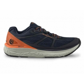 Topo Athletic Phantom Navy Orange Homme