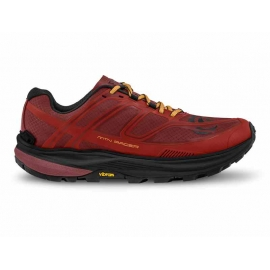 Topo Athletic MTN Racer Red Orange Homme