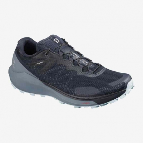 Salomon Sense Ride 3 Navy Blazer Flint stone Angel Falls Femme