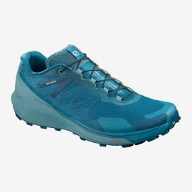 Salomon Sense Ride 3 Lyons Blue Smoke Blue Lemon Zest Homme