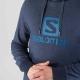 Salomon Logo Hoodie Night Sky Homme