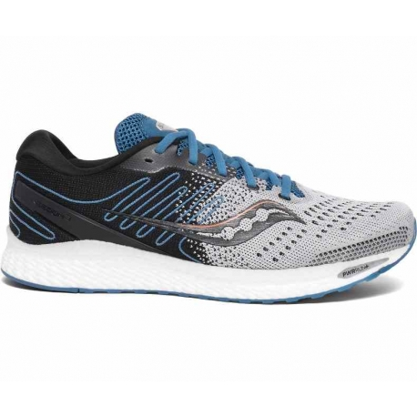 Saucony Freedom 3 Grey Blue Homme