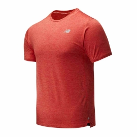 New Balance Impact Run Short Sleeve Toro Red