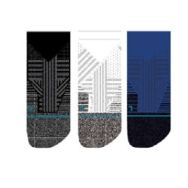 Stance Performance Staples Athletic Tab 3 pack Homme