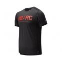 New Balance Impact Run Short Sleeve Toro Red