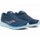 Saucony Ride ISO 2 Blue Aqua Femme