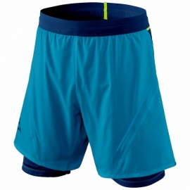 Dynafit Short Alpine Pro 2in1 Mykonos Blue Homme