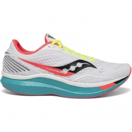 Saucony Endorphin Speed white mutant Homme