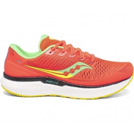 Saucony Triumph 18 Red Mutant Rouge Homme