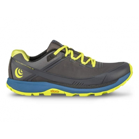 Topo Athletic Runventure Grey Green Femme