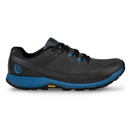 Topo Athletic Runventure Black Blue Homme